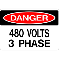 480 Volts 3 Phase