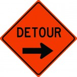 Detour Arrow Right