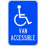 Handicapped Van Accessable