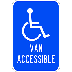 Handicapped Van Accessable