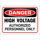 High Voltage Authorized Personnel