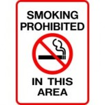Smoking Prohibited in This Area
