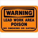 Warning Lead Work Area