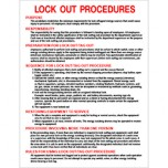 18X14 LOCK OUT PROCEDURES