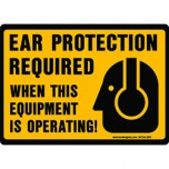 Ear Protection Required