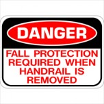 Fall Protection When Handrail Is Removed 14X20 SCU SSFP001