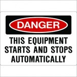 Machine Warning Starts Automatically