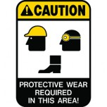 PPE Safety Labels