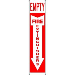 extinguisher empty
