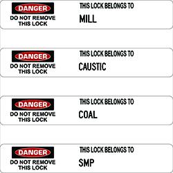 Lock Labels